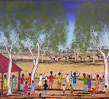 Outback At The Races Australia; SOLD by EJCairns