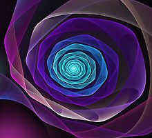 Fractal rose by Pam Blackstone