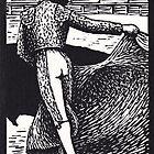 Matador.  Veronica Pass by Edmund Hodges