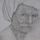 Indijac, pencil drawing by sejramic