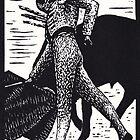 Matador. Derechazo pass by Edmund Hodges