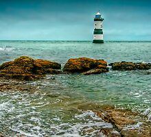 Penmon Point Lighthouse by Adrian Evans