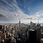 New York Skyline by Kalpesh Patel