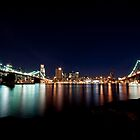 Two Bridges ... from Brooklyn by Kalpesh Patel