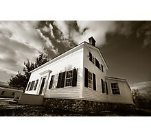 Historic House Photographic Print