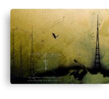 Theory of Flight - Blue Herons Canvas Print