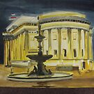 evening St George's Hall Liverpool by Susan Brown