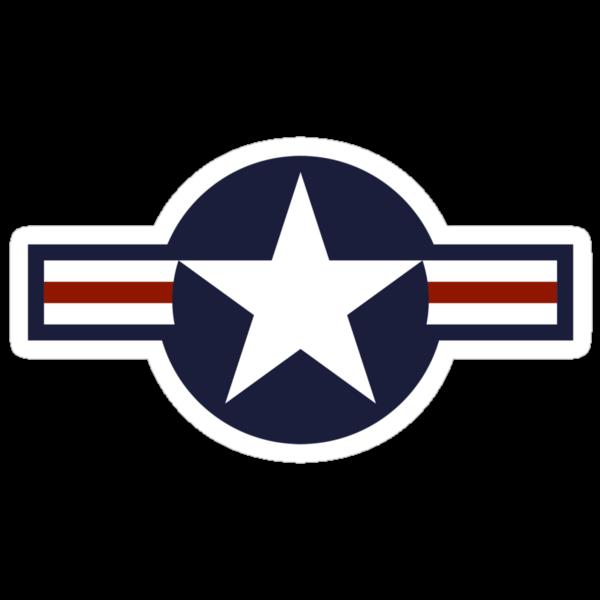 US Star Insignia (1947 to Present) by warbirdwear