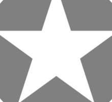 US Star Insignia (1947 to Present) Low Visibility Sticker