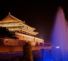 Beijing,  Tiananmen Square by jimmylu