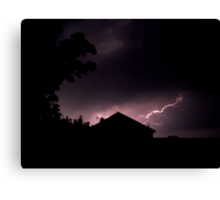 Lightning Strikes... Canvas Print