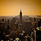 Dark Manhattan Skyline by SOMATUSCANI