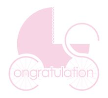Congratulations - Baby Girl by MarkGilmour