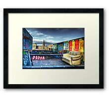 Roof Art Framed Print