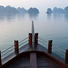 Halong Bay serenity by Jodie Johnson