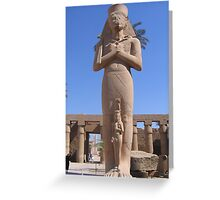 Colossus of Ramses II Greeting Card