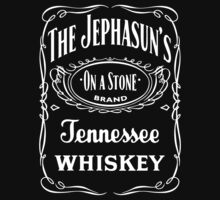 The Jephasuns Whisky Label T-Shirt by thejephasuns