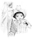 The Littlest Cowboy by ☼Laughing Bones☾