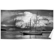 Storm Clouds - Batemans Bay NSW Poster