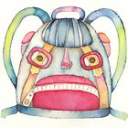 "The backpack scary, illustration of the story ""backpack""  by vimasi"