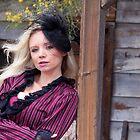 Saloon Woman Waits by BeautifulElegan