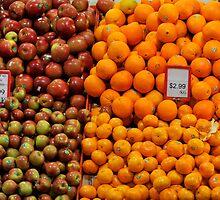 Oranges and Apples by Richard Shakenovsky