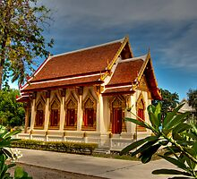Khao Tao Temple by Adrian Evans