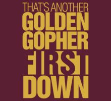 Minnesota Gophers - First down tee by integralapparel
