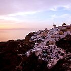 Oia Sunset - Santorini by Ben Prewett