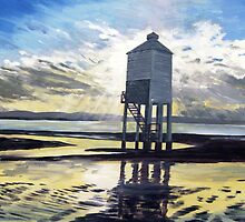 """Candle on the Water"" - Beach Lighthouse, Burnham-on-Sea, Somerset by Timothy Smith"
