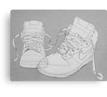 Nike boots Canvas Print