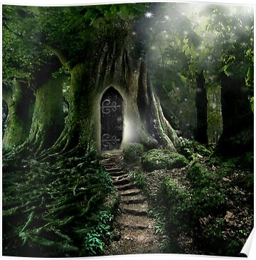 Doorway to Lothlorien by Angie Latham