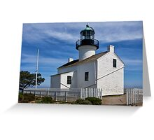 Photo of the Lighthouse at Cabrillo National Monument Greeting Card