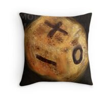RS 26: Die Throw Pillow