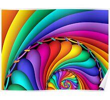 Rainbow Stitchery Poster
