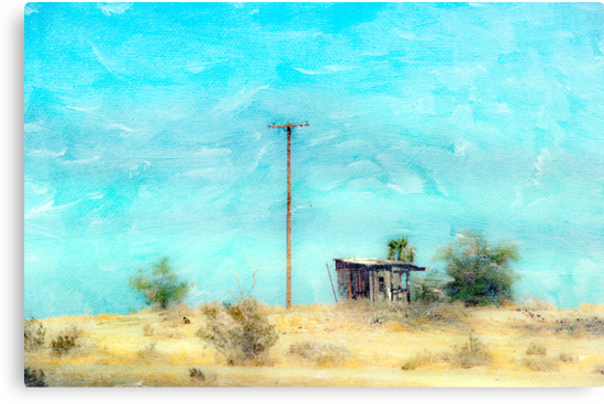 California Shack by Mary Ann Reilly