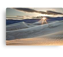 Panamint Dunes Canvas Print