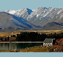 Church of the Good Shepherd, Lake Tekapo, NZ by Deb Gibbons