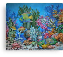 Caribbean Reef Canvas Print