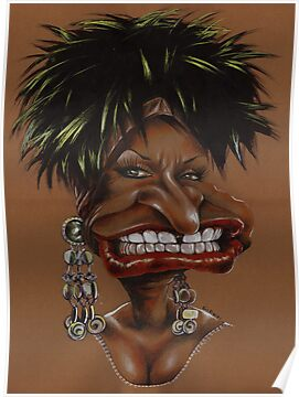 Celia Cruz Caricature by kiko