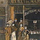 French Greengrocers by Edmund Hodges