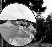 Mirror, Mirror on the Post by montserrat
