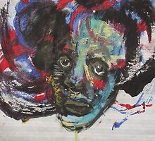 Face, Bernard Lacoque-107 by ArtLacoque