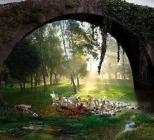 Over The Bridge by Igor Zenin