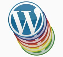 WordPress - Multicoloured Logo by Animenace