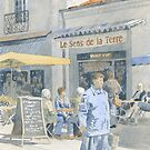 Market Day Coffee Break by ian osborne