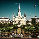Jackson Square, New Orleans by Natalie Parker