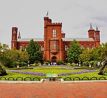 Smithsonian Castle, Washington DC, by AnnDixon