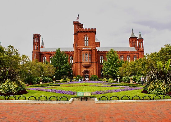 Smithsonian Castle, Washington DC, by AnnDixon