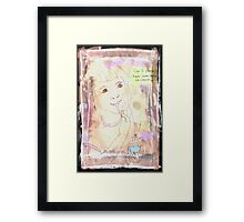 Can I Please Have Some More Ice Cream? Framed Print
